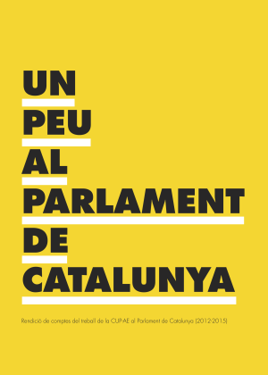Un Peu al Parlament